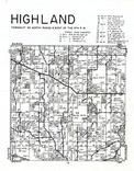 Highland Township, Clayton County 1966